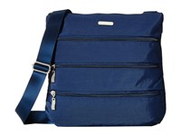 Baggallini Big Zipper Bagg Pacific Cross Body Handbags Blue