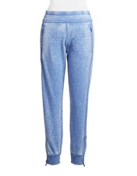Kensie Distressed Jogger Pants Lapis