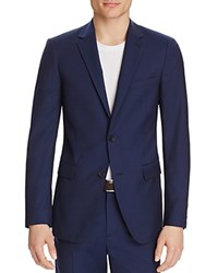 Theory Pin Mesilla Slim Fit Sport Coat Eclipse Blue