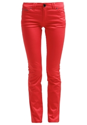 Morgan Trousers Rouge Red
