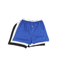 Tommy Hilfiger Cotton Knit Boxer 3 Pack Bluebird Men's Underwear