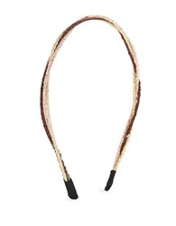 Cara Double Wire Headband Multi Colored