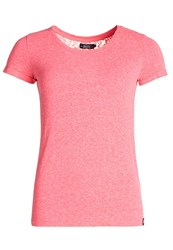 Superdry Super Sewn Rugged Lace T Shirt Pink