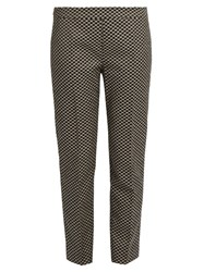 Max Mara Hixie Trousers Black White