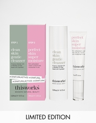 This Works Limited Edition Natural Actives Duo Save 30 Cleanskinandperfe