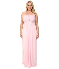 Culture Phit Plus Size Liliana Maxi Dress Light Pink Women's Dress