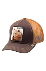 Goorin Bros. 'Grizz' Mesh Trucker Hat Brown