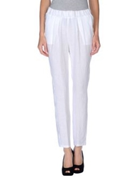 Nuvola Casual Pants White