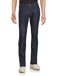 Raleigh Denim Slim Fit Cotton Jeans Resin Rinse