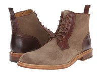 Crosby Square Rassman Light Brown Suede Men's Lace Up Boots