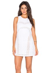Rvca Tell Me Lies Tank Dress White