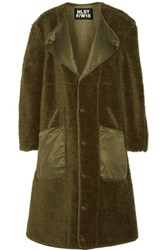 Nlst Wool Coat Army Green
