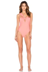 6 Shore Road Cuba One Piece Swimsuit Pink
