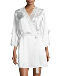 Always A Bride Wrap Pure White Prwht Oscar De La Renta Pink Label