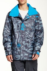 Quiksilver Mission Print Jacket Black