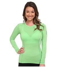 Arc'teryx Phase Sl Crew L S Green Orchid Women's Long Sleeve Pullover