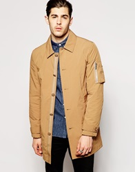 Asos Lightweight Trench Coat Beige