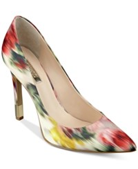 Guess Women's Babbitta Pointed Toe Pumps Women's Shoes Waterpaint