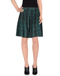 Le Ragazze Di St. Barth Skirts Knee Length Skirts Women Green