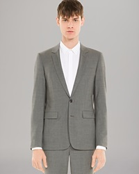 Sandro Mad Men Suiting Jacket Gris Clair