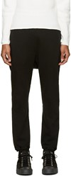 Undecorated Man Black Fleece Lounge Pants