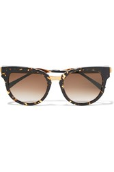 Thierry Lasry Affinity Cat Eye Acetate And Metal Sunglasses