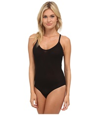 Ongossamer Gossamer Mesh Bodysuit Black Women's Jumpsuit And Rompers One Piece