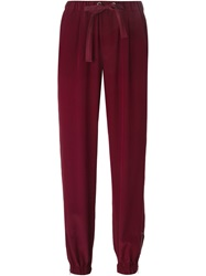 Red Valentino Gathered Ankle Trousers