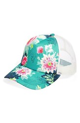 Junior Women's Billabong 'Beach Beauty' Trucker Hat
