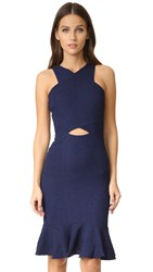 Ali And Jay Textured Dress Midnight
