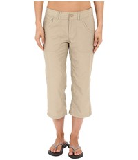 The North Face Horizon 2.0 Capris Dune Beige Women's Capri