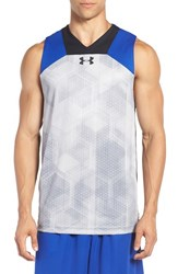 Under Armour Men's 'Select Performance' Fitted Heatgear Tank Steel