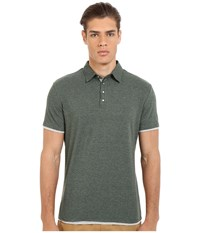 7 Diamonds The Ultimate S S Polo Viridian Men's Short Sleeve Pullover Green