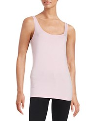 Lord And Taylor Iconic Slim Fit Tank Sweet Kiss
