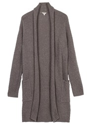 Fat Face Loxley Edge To Edge Cardigan Moleskin