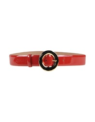 Love Moschino Belts Red