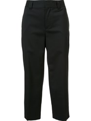 Dsquared2 Cropped Culottes Black