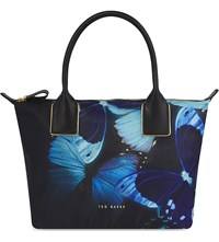 Ted Baker Butterfly Small Nylon Tote Black