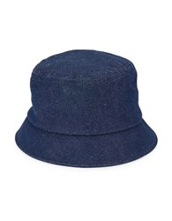 Brooks Brothers Dark Wash Denim Bucket Hat Blue
