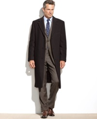 Lauren Ralph Lauren Columbia Cashmere Blend Overcoat Brown