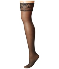 Falke Seidenglatt 15 Stocking Black Hose