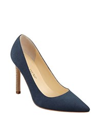 Ivanka Trump Carra 4 Pumps Navy Blue