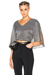Rachel Comey Plume Top In Black Checkered And Plaid Black Checkered And Plaid