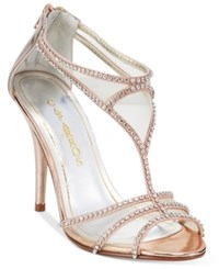 Caparros Blue Bell Strappy Illusion Evening Sandals Women's Shoes