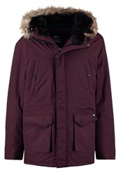 Dickies Curtis Parka Maroon Bordeaux