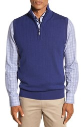 Men's Bobby Jones Quarter Zip Wool Sweater Vest