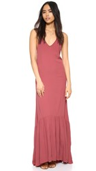 Flynn Skye Topanga Maxi Dress Red Velvet