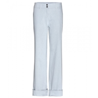 Jil Sander Stretch Denim Wide Leg Jeans Light Blue