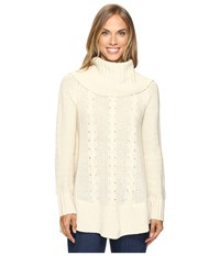 Smartwool Crestone Tunic Natural Heather Women's Sweater Beige