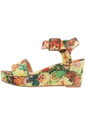 Anna Field Platform Sandals Yellow